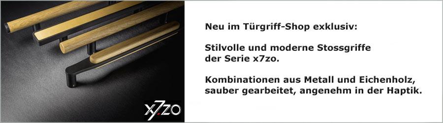 Neues Stossgriff-Sortiment von x7zo