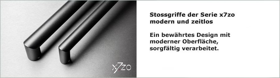 Moderne Stossgriffe der Marke x7zo