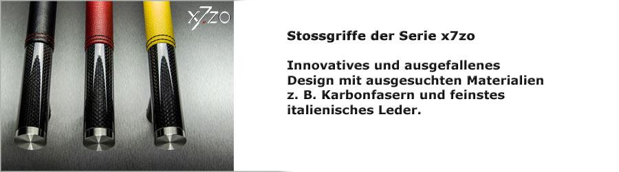 Innovative und ausgefallene Stossgriffe der Marke x7zo