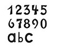 Hausnummern antik