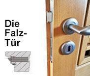 Einsteckschloss Falz-Zimmertüren