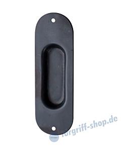 008 Muschelgriff oval Schwarzstahl von Halcö