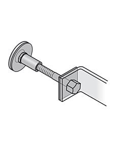 Befestigungs-Set f. FSB-Stossgriffe-einseitig durchgehend (MHK)