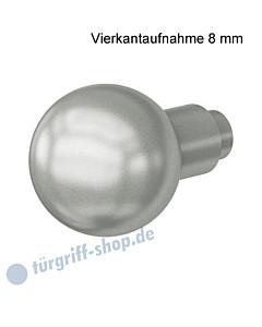 08-0802 Knopfdrücker-Lochteil drehbar, Vierkantaufnahme 8 mm, Knopfdurchmesser Ø 50 mm, Alu F1  von FSB