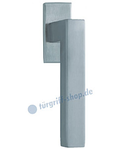 1002 (Quadra II) Fenstergriff eckig Edelstahl matt Scoop