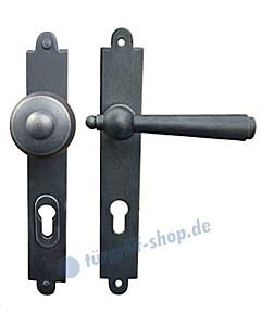Hallstatt LS Haustürgarnitur m. Sicherheitsrosette Hardox® Galbusera