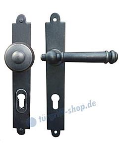 Steyr LS Haustürgarnitur m. Sicherheitsrosette Hardox® Galbusera