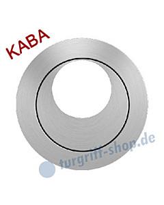 Rosette EZ 1332 Kaba versetzt Edelstahl-matt von Karcher