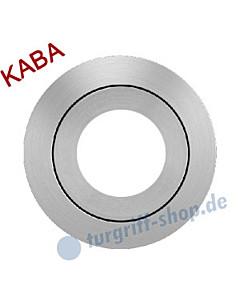 Rosette EZ 1332 Kaba mittig Edelstahl-matt von Karcher