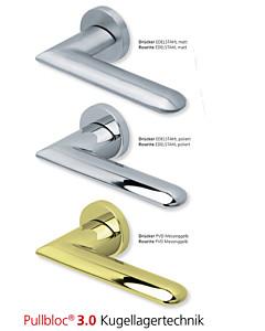 1021 Rosettengarnitur Pullbloc 3.0 Edelstahl oder PVD Messing von Scoop