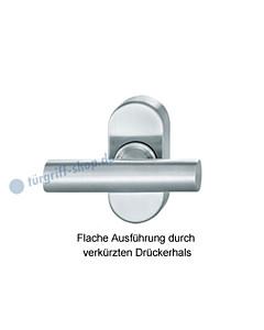 Fenstergriff FSB 34-3499 | flache Ausführung | nicht abschließbar Edelstahl feinmatt