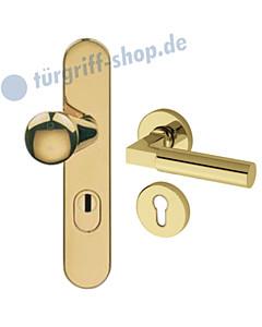 Schutzgarnitur 955-914 mit Kernziehschutz Ultra Messing Jatec