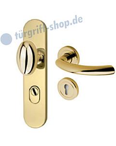 Schutzgarnitur 957-455 KZS | Drücker Avance Ultra Messing Jatec