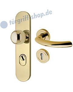 Schutzgarnitur 957-917 KZS | Drücker Avance Ultra Messing Jatec