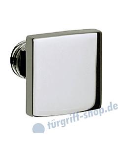 Knopflochteil 373-508 quadratisch feststehend o. drehbar Chrom oder Velourschrom Jatec