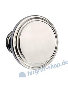 Knopflochteil 922-508 feststehend oder drehbar Ø 50mm Chrom Jatec