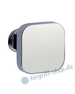 Knopflochteil 375-508 feststehend o. drehbar 50x50mm Chrom Jatec