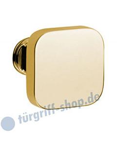 Knopflochteil 375-508 feststehend o. drehbar 50x50mm Ultra Messing Jatec