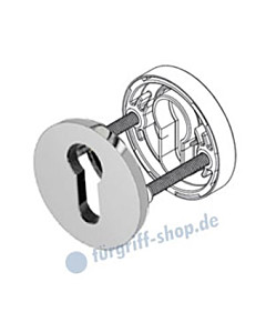 PZ Schlüsselrosettenpaar R373 Profilzylinder-Lochung 5 Farben Jatec