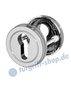 PZ Schlüsselrosettenpaar R428 Profilzylinder-Lochung 4 Farben Jatec