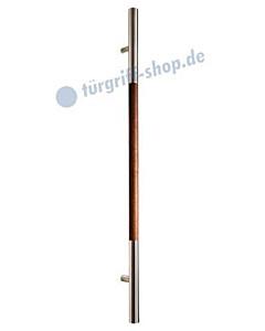SG-134 Stossgriff Edelstahl/Holz in 3 Längen Werding