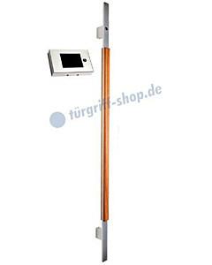 SPSG-17 Stossgriff mit integrierter Kamera und Monitor Länge 1200 mm Edelstahl/Holz Werding