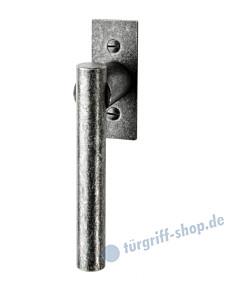 105 Fenstergriff mit eckiger Rosette, mit Rasterung Multitac®, Stift 7 x 35 mm, schwarz passiviert von Halcö
