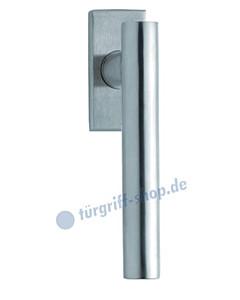 1074 (Roxy) Fenstergriff eckig Edelstahl matt o. pol. Scoop