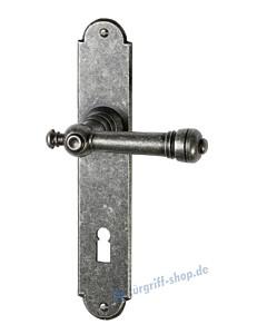 109 Langschildgarnitur schwarz passiviert von Halcö