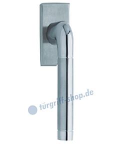 1101 (Duo) Fenstergriff eckig Edelstahl matt/poliert von Scoop