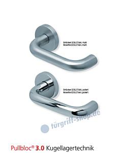 1104 Rosettengarnitur Pullbloc 3.0 Edelstahl matt oder poliert von Scoop