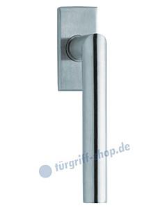 1106 (Thema) Fenstergriff eckig Edelstahl matt o. poliert Scoop