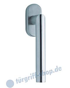 1106 (Thema) Fenstergriff oval Edelstahl matt o. pol. Scoop