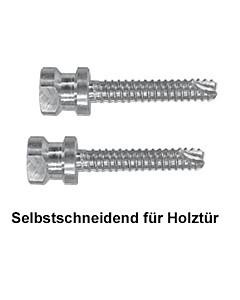 Stossgriff-Befestigung 111893 einseitig unsichtbar für Edelstahl-Stossgriff von Spitzer auf Holztür