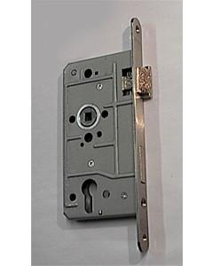 Objektschloß Profilzylinder mit Metallfalle und Edelstahl-Stulp SSF