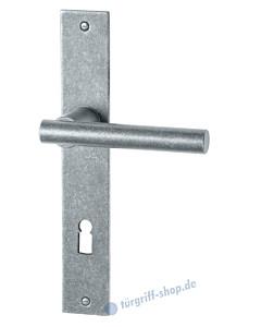 117 Langschildgarnitur thermopatiniert von Halcö