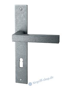 118 Langschildgarnitur antik-grau thermopatiniert von Halcö
