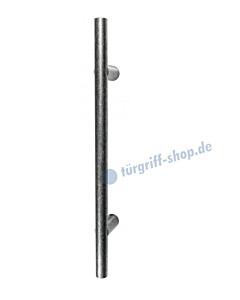 119-151 Bügelgriff für Schiebetür Länge 400 mm, inkl. Befestigungsset schwarz passiviert von Halcö
