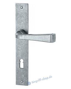 119 Langschildgarnitur antik-grau thermopatiniert von Halcö