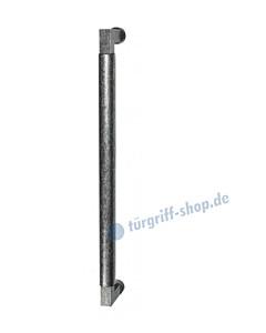 119-169 Bügelgriff für Schiebetür Länge 375 mm, inkl. Befestigungsset schwarz passiviert von Halcö