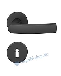 12-1015 Rosettengarnitur ASL® in Alu gestrahlt farbig eloxiert in verschiedenen Farben von FSB