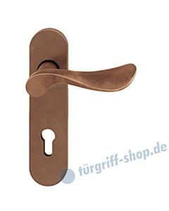 12-1020 ovale Kurzschildgarnitur ASL® von FSB Bronze