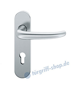 12-1023 ovale Kurzschildgarnitur ASL® von FSB Edelstahl