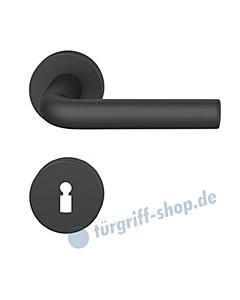 12-1075 Rosettengarnitur ASL® in Alu gestrahlt farbig eloxiert in verschiedenen Farben von FSB