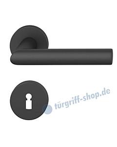 12-1076 Rosettengarnitur ASL® in Alu gestrahlt farbig eloxiert in verschiedenen Farben von FSB