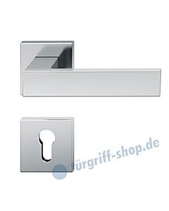 12-1251 quadratische Rosettengarnitur ASL® von FSB Edelstahl feinmatt