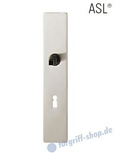 12-1410 eckiges Langschild ASL® mit BB-Lochung, 72 mm, Vierkantaufnahme 8 mm,  Alu F1 FSB