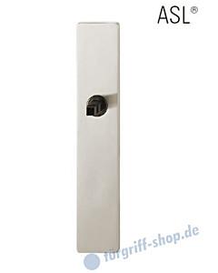 12-1410 eckiges Langschild ASL® ohne Lochung (blind), 72 mm, Vierkantaufnahme 8 mm, Alu F1 natureloxiert FSB