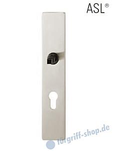 12-1410 eckiges Langschild ASL® mit PZ-Lochung, 72mm, Vierkantaufnahme 8 mm, Alu F1 FSB