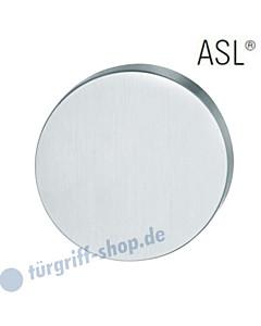 12-1735 Schlüsselrosette ASL® ohne Lochung (blind) Edelstahl feinmatt FSB